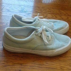 Size 6 lightly used powder blue Keds